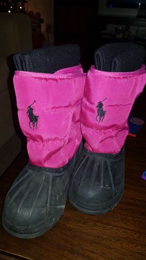Girls Polo snow boots for Sale in Norwalk, IA