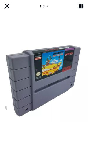 Road Runner's Death Valley Rally SUPER NINTENDO SNES Game Tested Working for Sale in Lancaster, CA