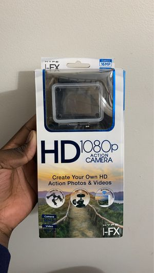 Hype I-fx HD 1080p action camera for Sale in Frederick, MD