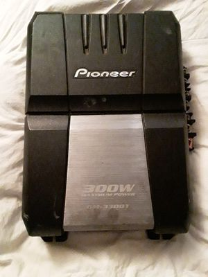 Pioneer 300w 4 Chanel Amp for Sale in San Jose, CA