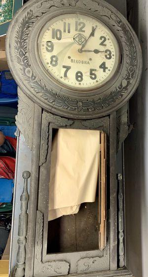 Sikosha Vintage Antique Clock Korea Pre WW1 for Sale in Kirkland, WA