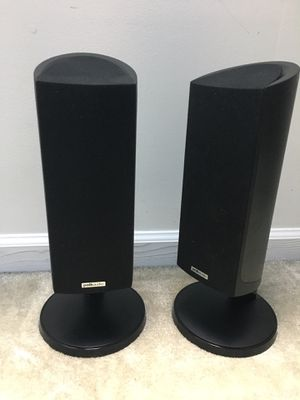Polk audio Rm 202 high end speakers with stand!! for Sale in Malvern, PA