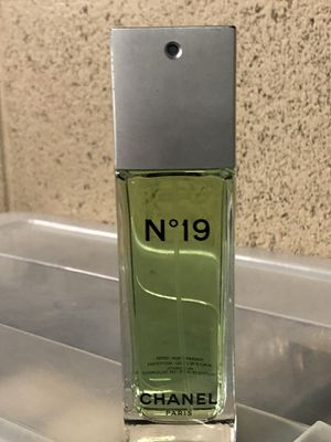 CHANEL N° 19 EDT 3.4-oz Woman's Perfume for Sale in Riverside, CA
