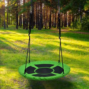 Detachable Swing Sets for Kids Playground Platform Saucer Tree Swing Rope 1M 40'' Diameter for Sale in Kissimmee, FL