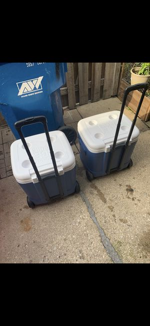 2 coolers $25 each for Sale in Glendale Heights, IL