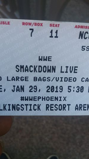 3 Lower level section 104 row 7. $74 ea for Sale in Laveen Village, AZ