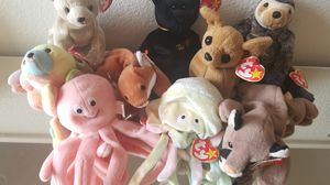 Multiple beanie baby's for sale- different prices for each for Sale in Beverly Hills, CA