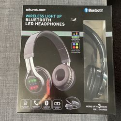 Wireless Light Up Bluetooth LED Headphones for Sale in Denver,  CO