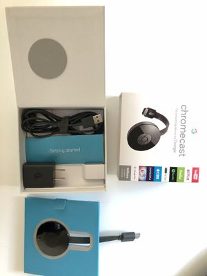 Chromecast 2nd Gen for Sale in Sunnyvale, CA