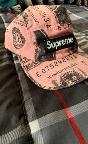 Supreme box logo money hat (pink) for Sale in Bedford Heights, OH