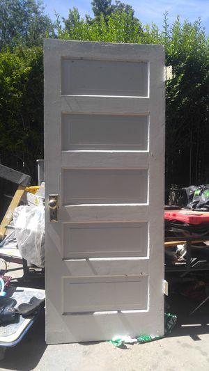 Door 5 Panel . Solid wood for Sale in South Salt Lake, UT