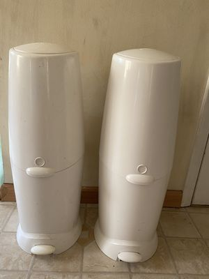 Diaper Genie elite - diapers size 4 for Sale in Parma, OH