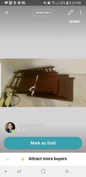 Changing table for Sale in Columbia, SC