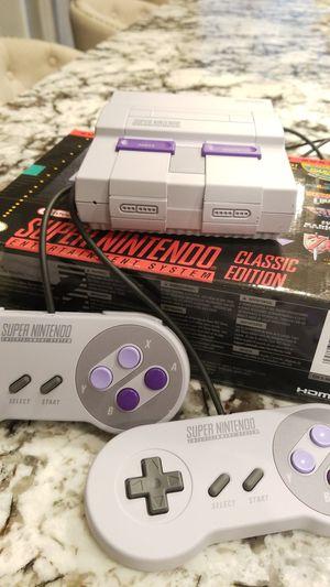 Super Nintendo Classic Edition for Sale in Clovis, CA