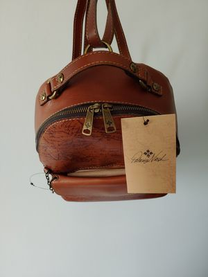NWT Patricia Nash Signature Map Leather Backpack for Sale in Centreville, VA