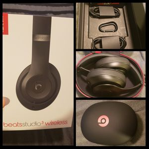 Beats Studio 3 Wireless (Brand New-Open Box) for Sale in Montebello, CA