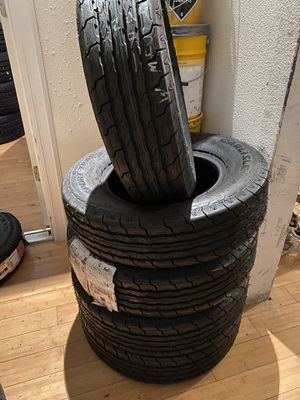 5. ST205/75R14 new trailer tires !! for Sale in Everett, WA