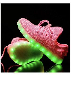 New Light up shoes size 2 rechargeable for Sale in Las Vegas, NV