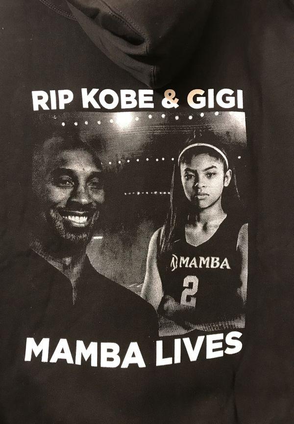 Kobe Bryant and Gigi hoodie