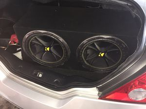 Speaker And Amplifier For Car 🎧 for Sale in Houston, TX