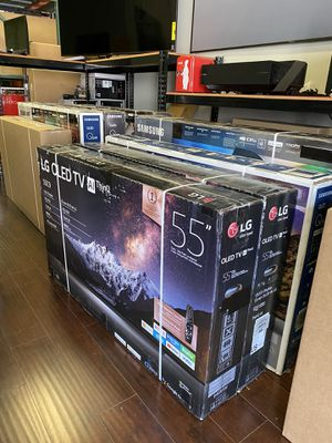 55 INCH LG OLED C9 AI THINNQ SMART 4K TV SALE for Sale in Alhambra, CA
