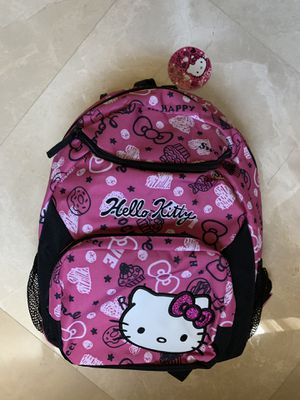 Hello Kitty Back Pack with Pencil Box. for Sale in Miramar, FL