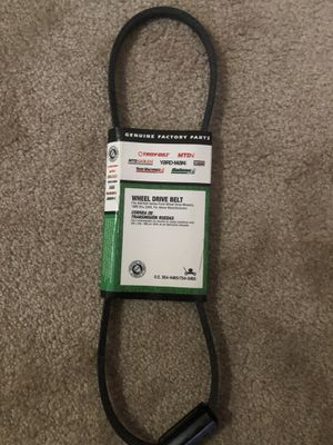 Drive belt for Lawn mower tractor for Sale in Tampa, FL