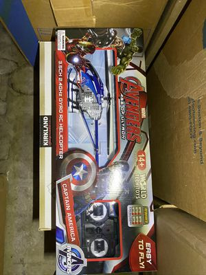New in Box -Avengers RC Helicopter - Captain America for Sale in Palos Verdes Estates, CA