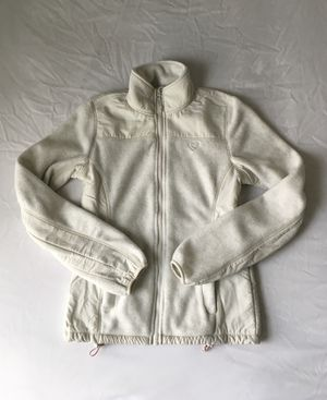 Off-White Zip-Up Fleece Jacket for Sale in Pasco, WA