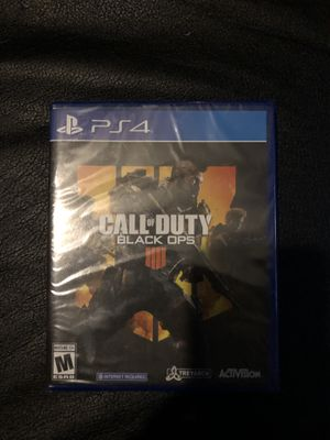 (UNOPENED) Call of Duty: Black Ops 4 for Sale in Riverside, CA