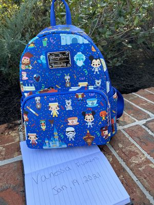 Disney loungefly backpack for Sale in FL, US