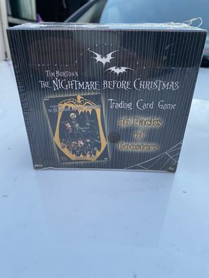 Factory Sealed Booster Box - 2005 Neca Nightmare Before Christmas Booster Cards for Sale in Portland, OR