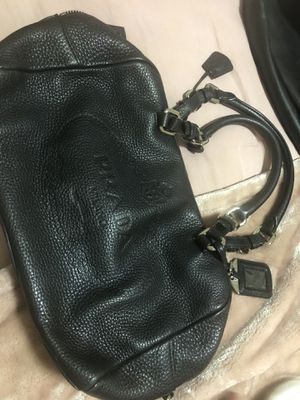Prada leather bag 100% real heavy leather for Sale in Staten Island, NY