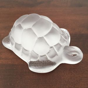 Vintage glass turtle for Sale in Brookline, MA