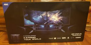 """Gaming Monitor C24G1 24"""" Curved FHD 1080p, 1500R VA panel, 1ms 144Hz, FreeSync for Sale in Los Angeles, CA"""