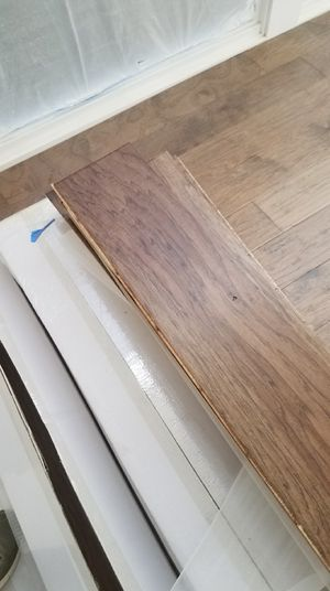 wooden floor is installed and sale for Sale in Stagecoach, TX