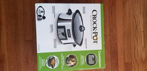 New crockpot. Stainless. Digital for Sale in Torrance, CA