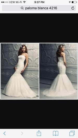 Paloma Blanca 4216 wedding dress for Sale in Dedham, MA