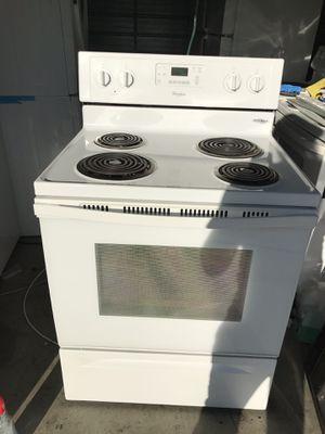 Whirlpool electric range stove!! for Sale in Santa Ana, CA
