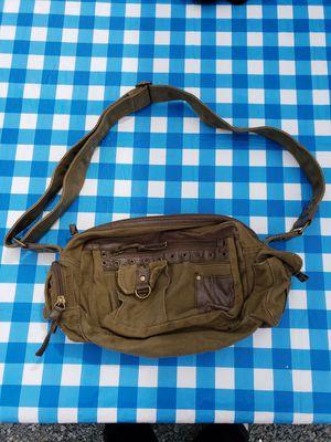 Military Green Denim Canvus Messenger Bag for Sale in Bonney Lake, WA