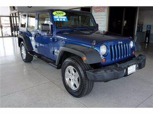 2009 Jeep Wrangler Unlimited for Sale in Sacramento, CA
