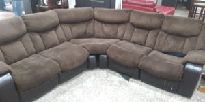 Sectional couch with 2 recliners for Sale in Saratoga Springs, UT