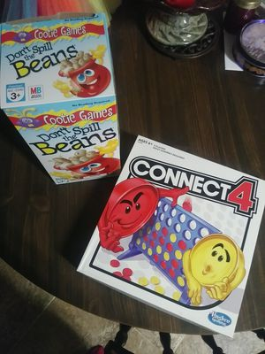 Don't Spill the Beans and Connect 4 for Sale in Acworth, GA