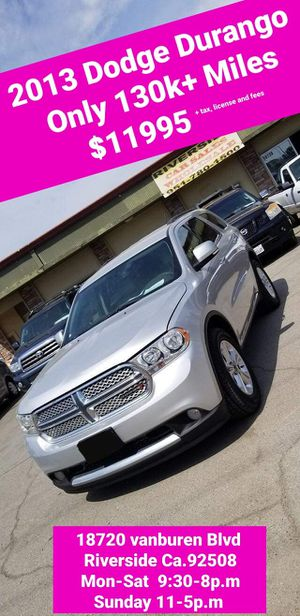 2013 DODGE DURANGO for Sale in Riverside, CA