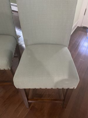 "Bar stool chairs 24"" / light green for Sale in Totowa, NJ"