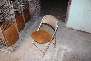 Folding chairs with rack for Sale in Stockton, CA