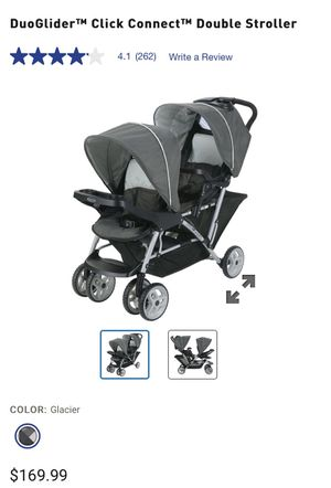 DuoGlider Click Connect Double Stroller for Sale in Lakewood, CA