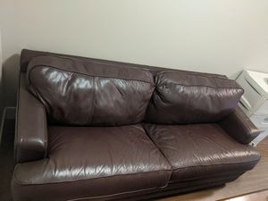 Couch with pull out bed frame ( no mattress) for Sale in Seattle, WA