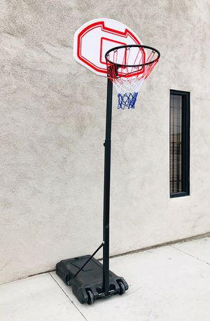 """New $45 Kids Junior Sports Basketball Hoop 28x19"""" Backboard, Adjustable Rim Height 5' to 7' for Sale in Pico Rivera, CA"""