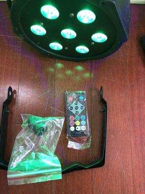 Led par light RGB/UV/DMX Sound Activated Remote Control for church wedding DJ show stage party lights for Sale in La Verne, CA